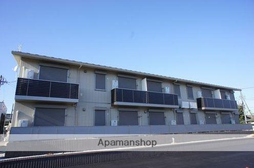 群馬県太田市、太田駅徒歩17分の築1年 2階建の賃貸アパート
