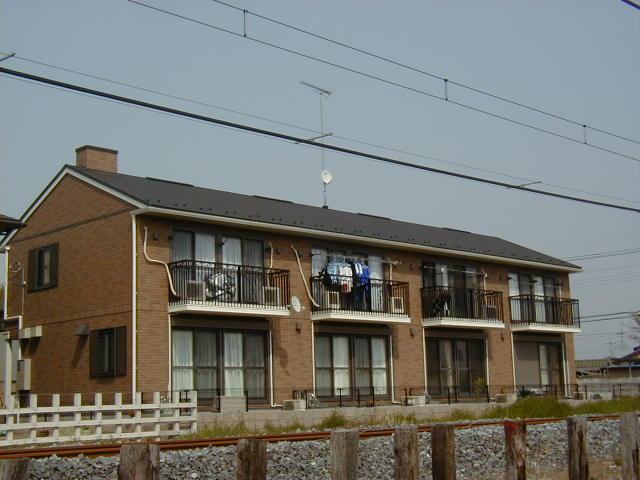 群馬県太田市の築12年 2階建の賃貸アパート