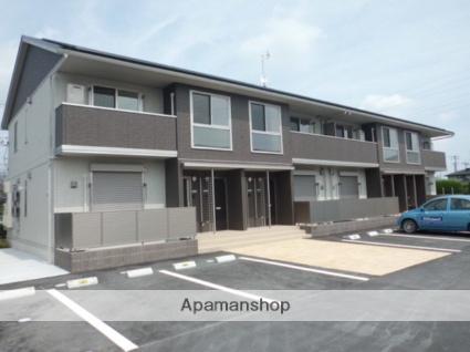 群馬県太田市の築1年 2階建の賃貸アパート