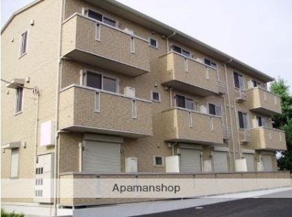 群馬県太田市、韮川駅徒歩15分の築8年 3階建の賃貸アパート