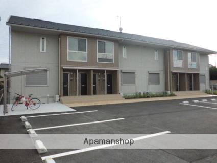 群馬県太田市、細谷駅徒歩24分の新築 2階建の賃貸アパート