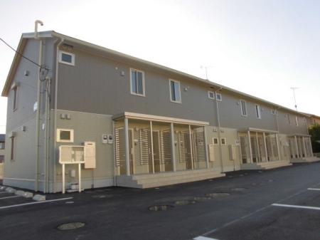 群馬県太田市、細谷駅徒歩30分の新築 2階建の賃貸アパート