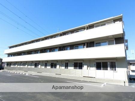 栃木県足利市、山前駅徒歩22分の新築 3階建の賃貸アパート