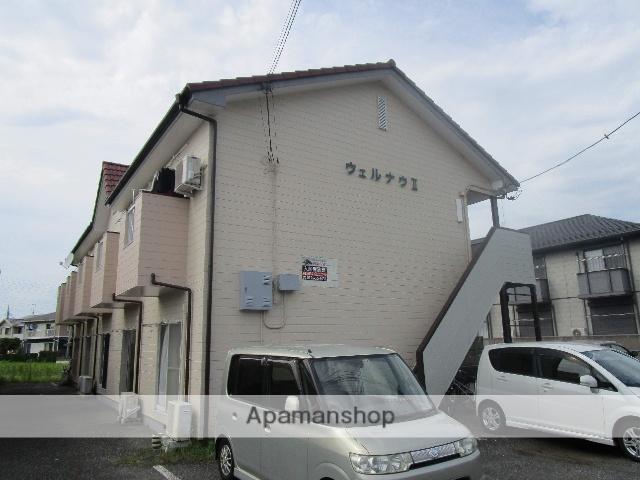 群馬県太田市、太田駅徒歩15分の築26年 2階建の賃貸アパート