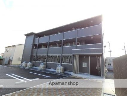 群馬県太田市、韮川駅徒歩14分の新築 3階建の賃貸アパート