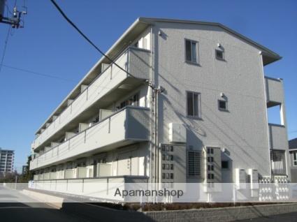 群馬県太田市、太田駅徒歩14分の築6年 3階建の賃貸アパート