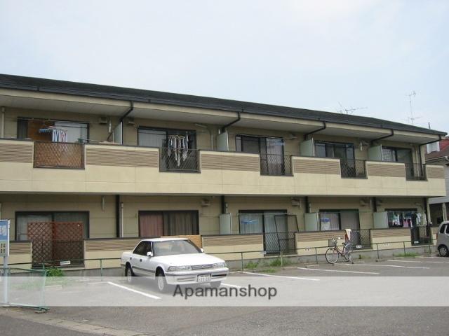 群馬県太田市、太田駅徒歩6分の築20年 2階建の賃貸アパート