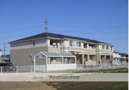 群馬県太田市、国定駅徒歩65分の築5年 2階建の賃貸アパート