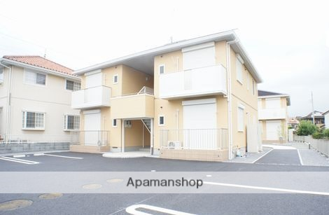 群馬県太田市の築5年 2階建の賃貸アパート