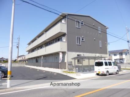群馬県太田市、竜舞駅徒歩13分の築3年 3階建の賃貸アパート