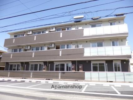 群馬県太田市、太田駅徒歩26分の築4年 3階建の賃貸アパート