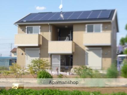 群馬県太田市、竜舞駅徒歩15分の築3年 2階建の賃貸アパート