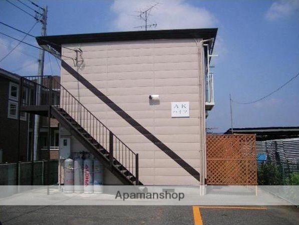 群馬県太田市、太田駅徒歩30分の築28年 2階建の賃貸アパート