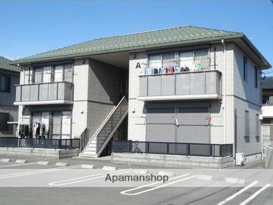群馬県太田市、細谷駅徒歩30分の築13年 2階建の賃貸アパート