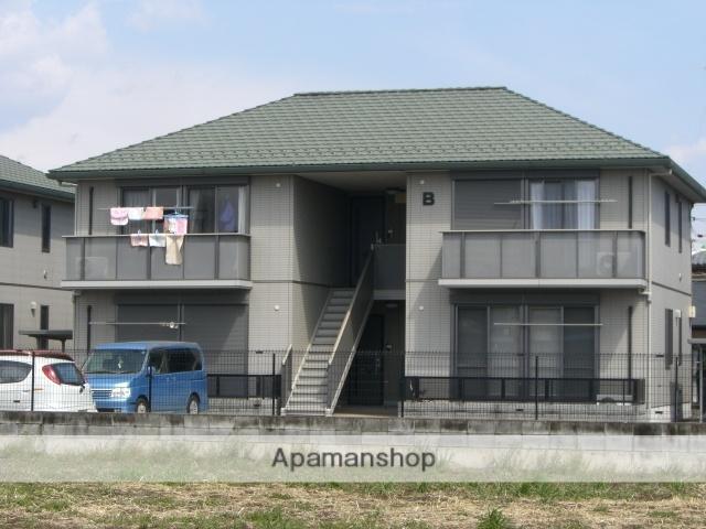 群馬県太田市、太田駅徒歩50分の築13年 2階建の賃貸アパート