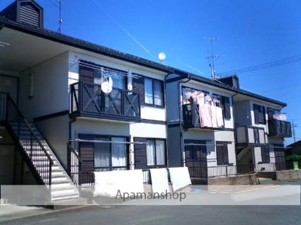 群馬県太田市、細谷駅徒歩20分の築22年 2階建の賃貸アパート
