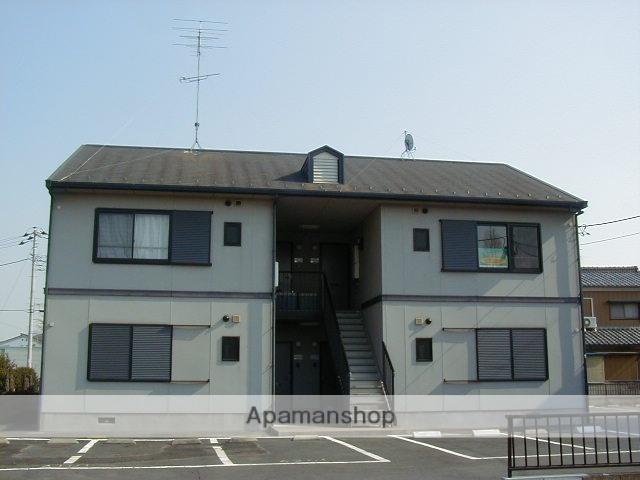群馬県太田市、韮川駅徒歩5分の築20年 2階建の賃貸アパート