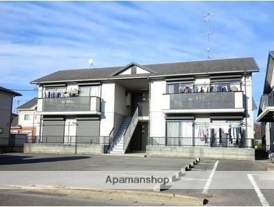 群馬県太田市、世良田駅徒歩24分の築20年 2階建の賃貸アパート