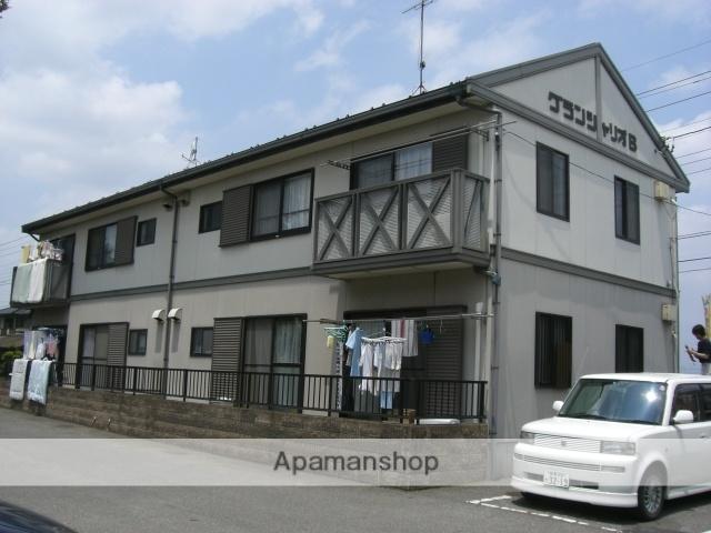 群馬県太田市、太田駅徒歩36分の築23年 2階建の賃貸アパート