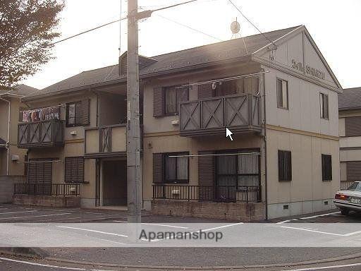 群馬県太田市の築23年 2階建の賃貸アパート