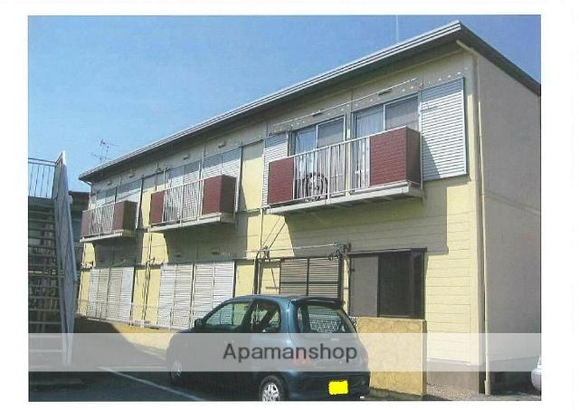 群馬県太田市、三枚橋駅徒歩15分の築33年 2階建の賃貸アパート