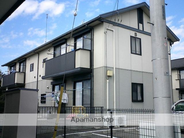 群馬県太田市の築18年 2階建の賃貸アパート