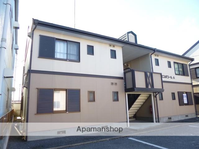 群馬県太田市、細谷駅徒歩22分の築23年 2階建の賃貸アパート