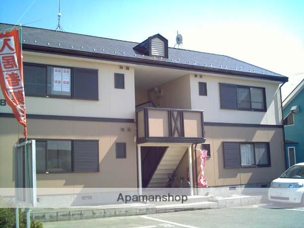 群馬県太田市、細谷駅徒歩20分の築23年 2階建の賃貸アパート