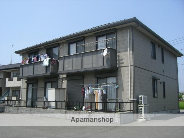 群馬県太田市、韮川駅徒歩40分の築15年 2階建の賃貸アパート