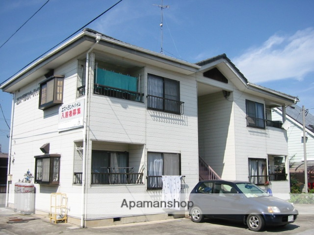 群馬県太田市、竜舞駅徒歩23分の築24年 2階建の賃貸アパート
