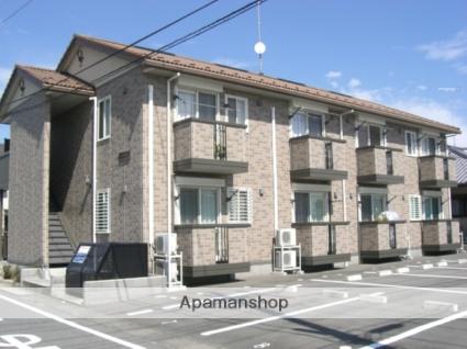 群馬県太田市の築13年 2階建の賃貸アパート