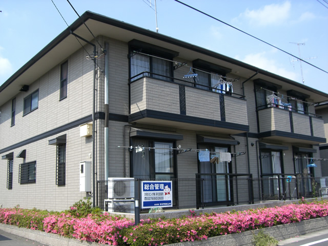 群馬県太田市、西小泉駅徒歩37分の築18年 2階建の賃貸アパート