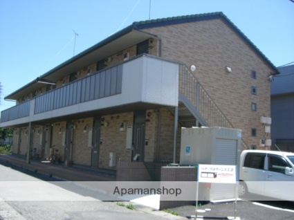 群馬県太田市、太田駅徒歩13分の築10年 2階建の賃貸アパート
