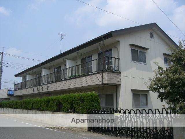 群馬県太田市、西小泉駅徒歩30分の築25年 2階建の賃貸アパート