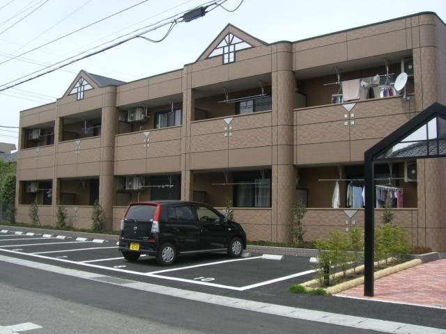群馬県太田市、細谷駅徒歩23分の築10年 2階建の賃貸アパート