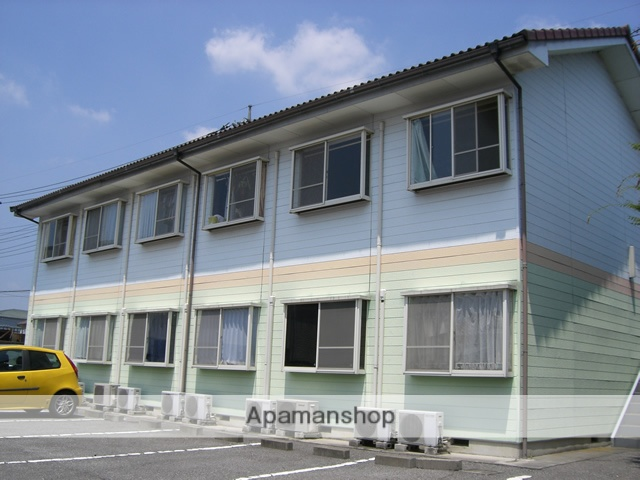群馬県太田市の築27年 2階建の賃貸アパート
