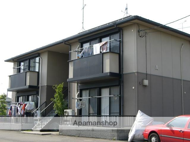 群馬県太田市、西小泉駅徒歩35分の築18年 2階建の賃貸アパート
