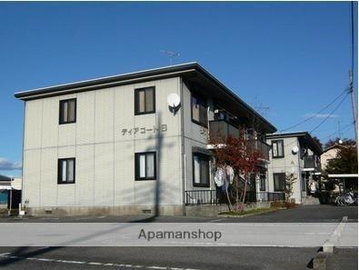 群馬県太田市、三枚橋駅徒歩2分の築20年 2階建の賃貸アパート