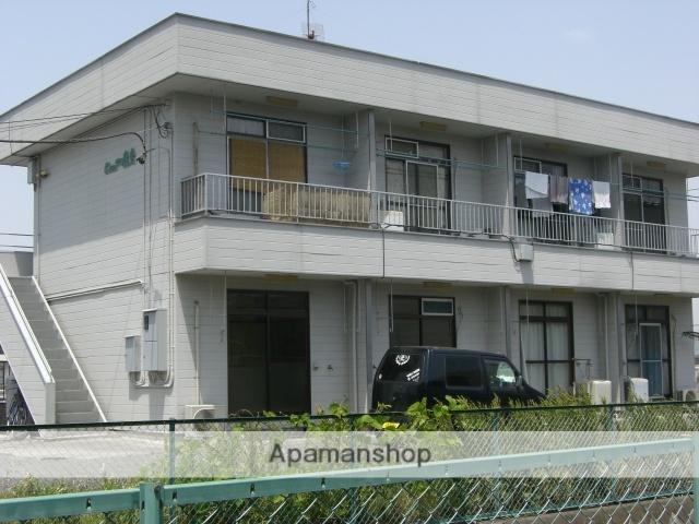 群馬県太田市、細谷駅徒歩50分の築30年 2階建の賃貸アパート