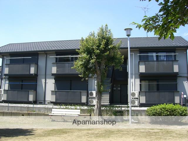 群馬県太田市の築20年 2階建の賃貸アパート