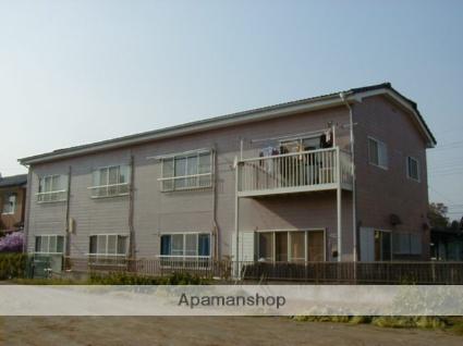 群馬県太田市、韮川駅徒歩10分の築27年 2階建の賃貸アパート