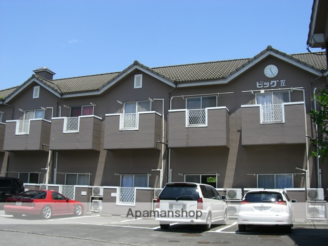 群馬県太田市の築28年 2階建の賃貸アパート