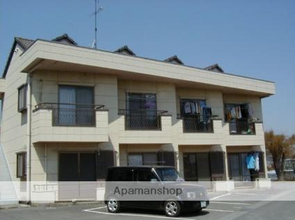 群馬県太田市の築19年 2階建の賃貸アパート