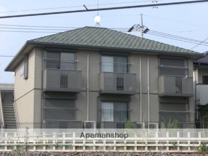 群馬県太田市、竜舞駅徒歩10分の築13年 2階建の賃貸アパート