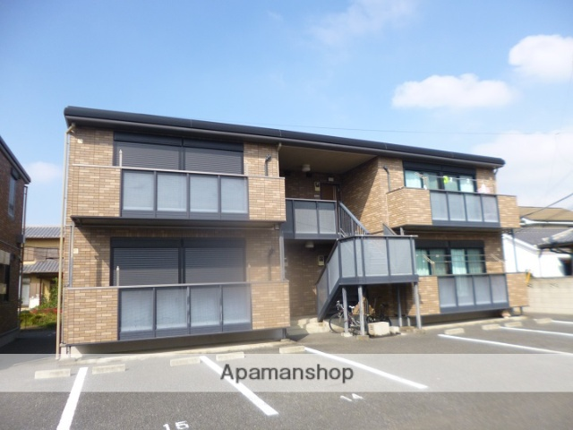 群馬県太田市、細谷駅徒歩20分の築13年 2階建の賃貸アパート
