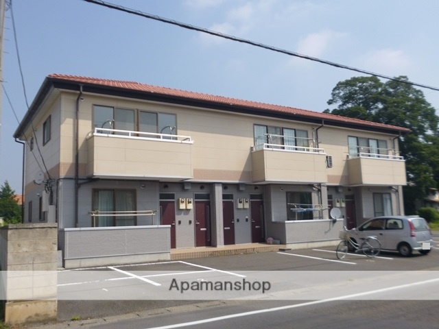 群馬県太田市、三枚橋駅徒歩8分の築10年 2階建の賃貸アパート