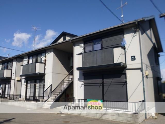 群馬県太田市、木崎駅徒歩54分の築18年 2階建の賃貸アパート