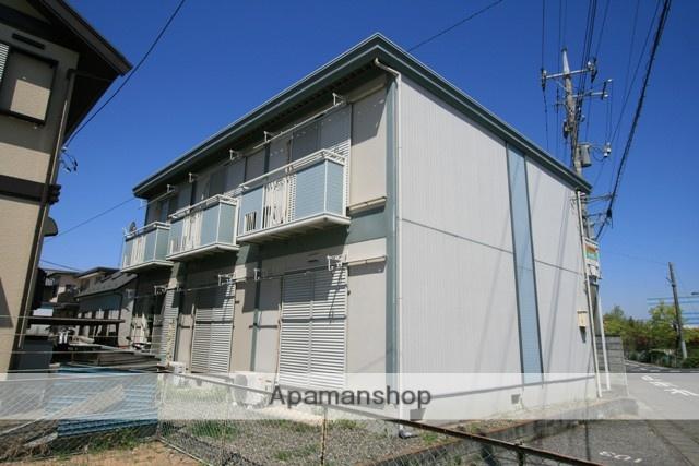 群馬県太田市、太田駅徒歩28分の築27年 2階建の賃貸アパート