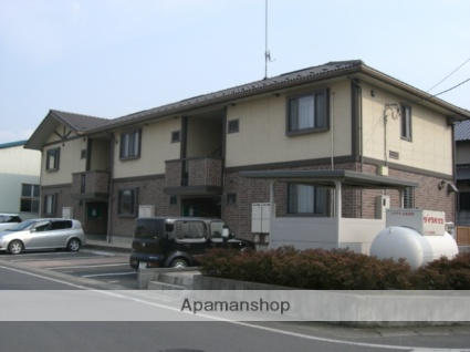 群馬県太田市、西小泉駅徒歩31分の築13年 2階建の賃貸アパート