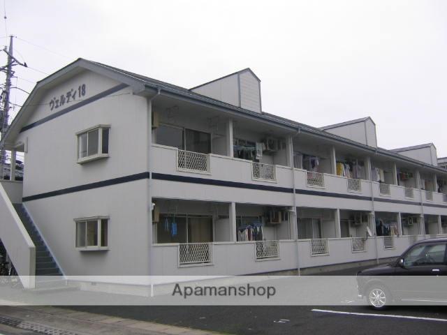 群馬県高崎市、北高崎駅徒歩17分の築22年 2階建の賃貸アパート